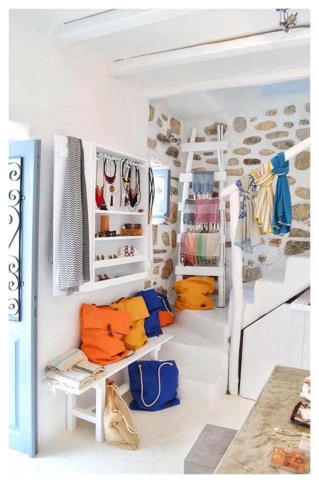 FAD Naousa, Paros, Greek designers store