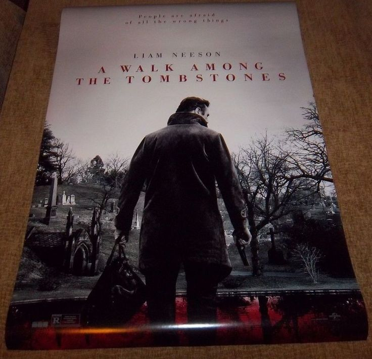 A walk among the tombstones 27 x 40 size original 2