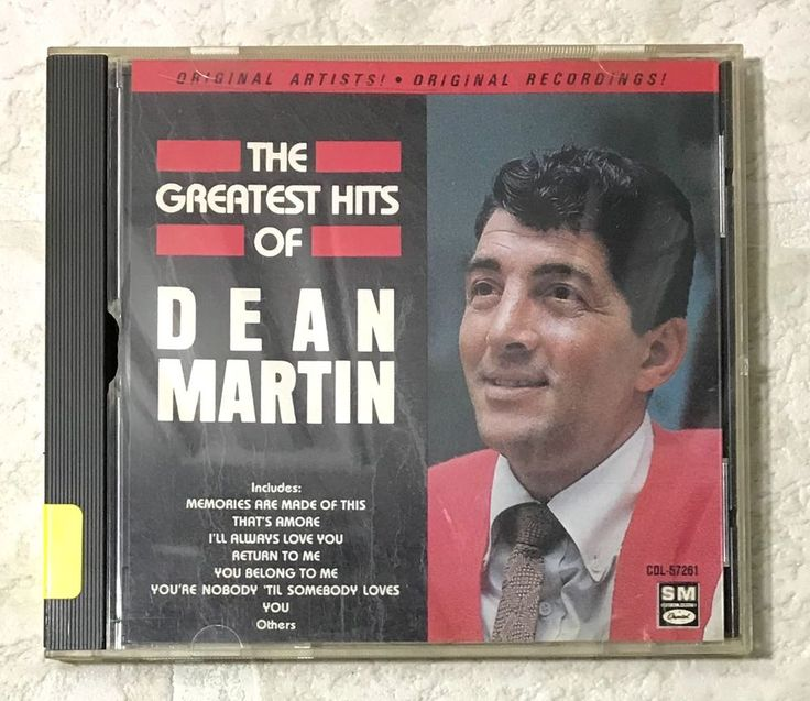 Dean Martin CD The Greatest Hits Capital Records 1990 Out of Production Dino #TraditionalVocal