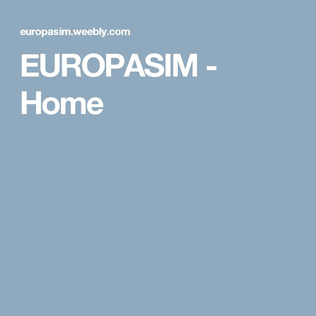 EUROPASIM - Home