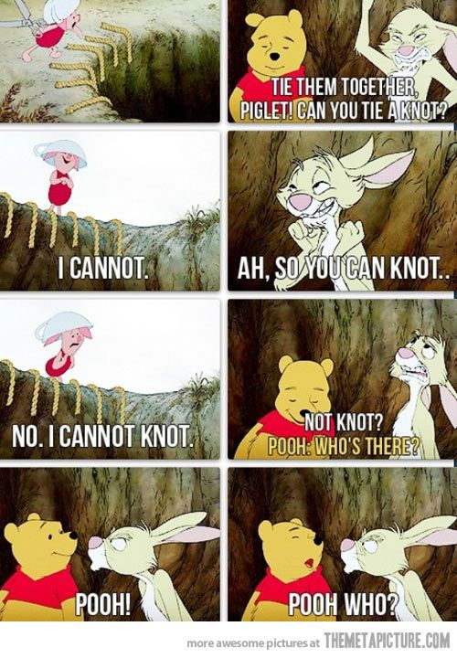 No matter how old we get Pooh is still awesome