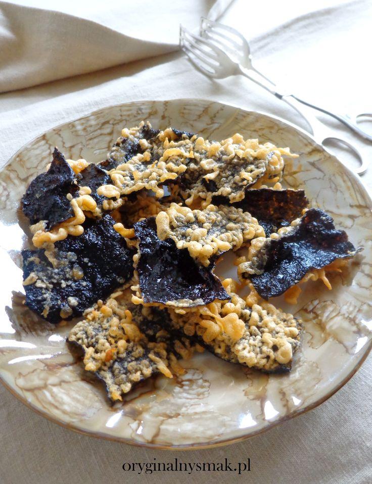 Chipsy z nori w aromatycznej tempurze | Oryginalny smak