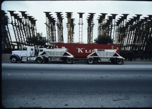 Intermodal facilities on Washington Boulevard, Commerce, 2004 :: Martin Krieger Collection