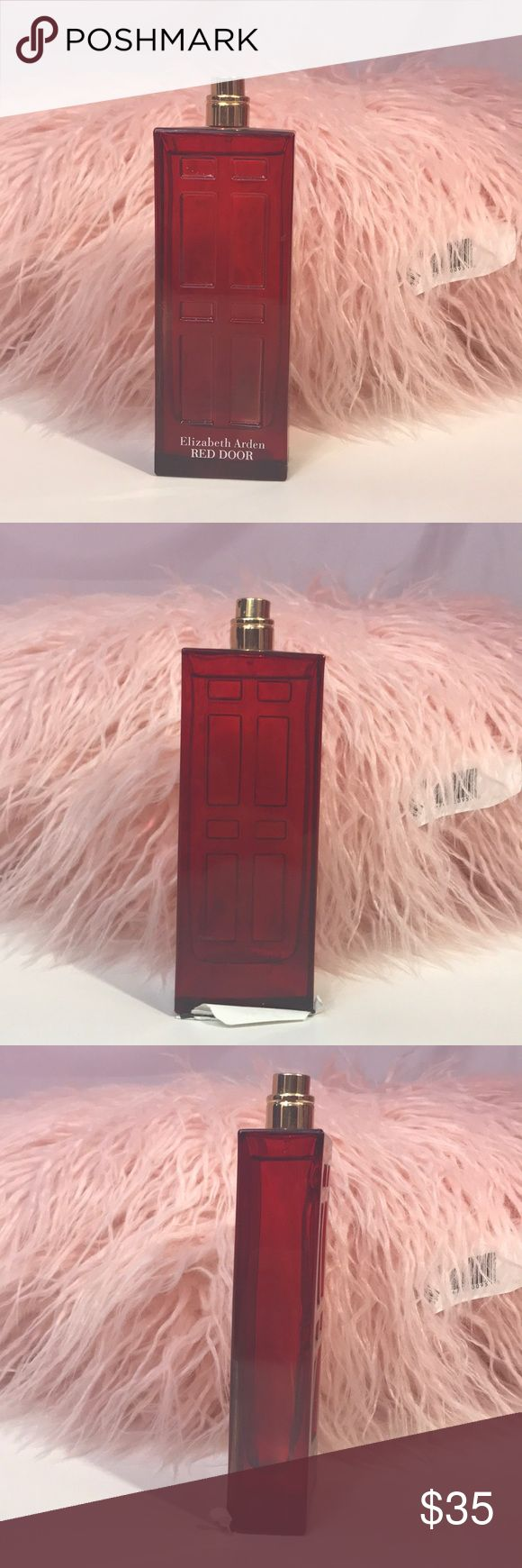 Elizabeth Arden red door Perfume Unlock your scenes with Elizabeth Arden's Red Door Perfume. This Perfume is 3.3 oz and is authentic... I have a few of these and all have some type of paper,glue on the bottom   This post has been cross posted . No trades and best offer accepted Elizabeth Arden Accessories