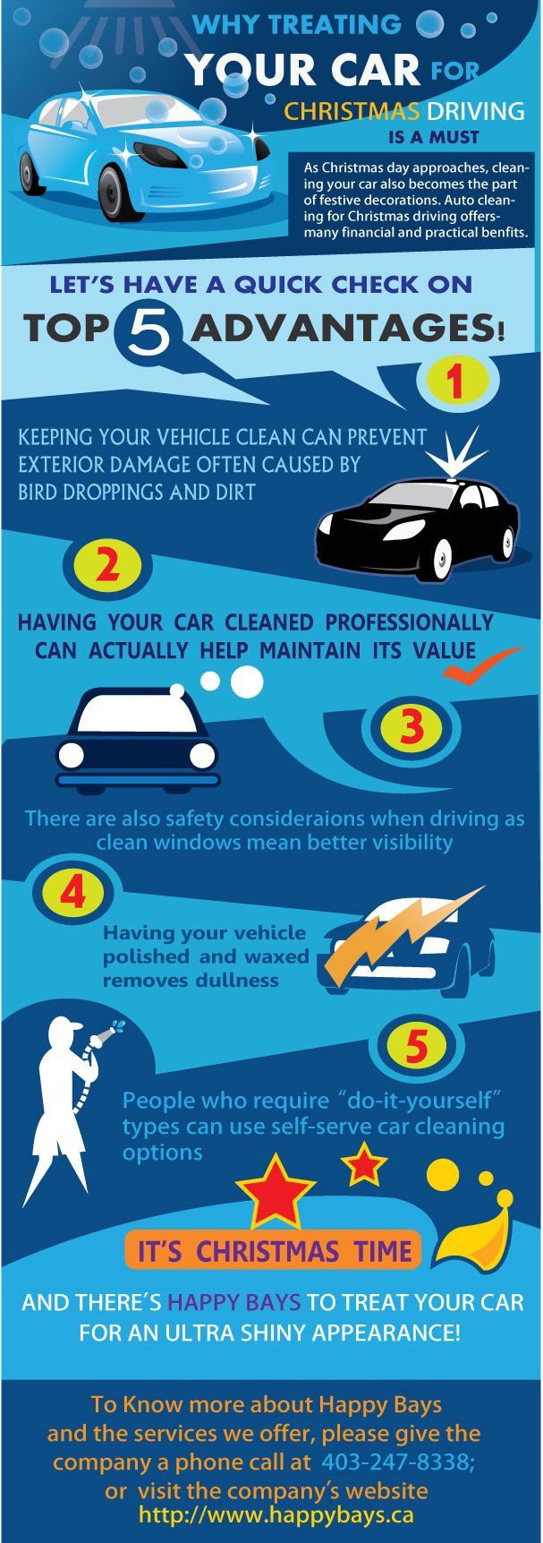 Since this festive season calls for celebration decoration why not treat your car with the best services check out our infographic and know the importance
