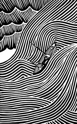 - Stanley Donwood -Eraser Cover Detail -