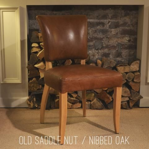 Riders Nut / Nibbed Oak | Halo Living | Mimi Dining Chair ...