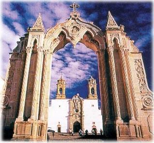 Santuario Del Santo Nino, Plateros Fresnillo Zacatecas, Mexico
