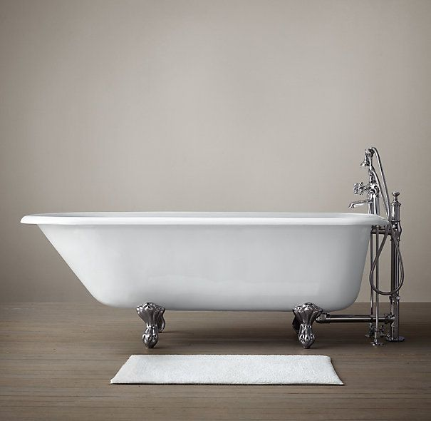 61 Quot Classic Victorian Clawfoot Tub With Deckmount Tubfill