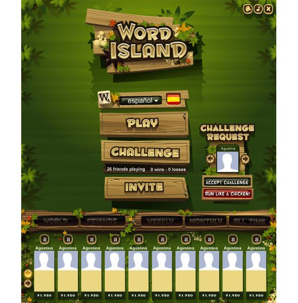 Games by Ariel Icandri, via Behance
