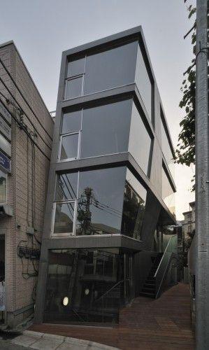 Unique In-Fill development by Architects: aat + makoto yokomizo architects, inc Location: Shibuya, Tokyo