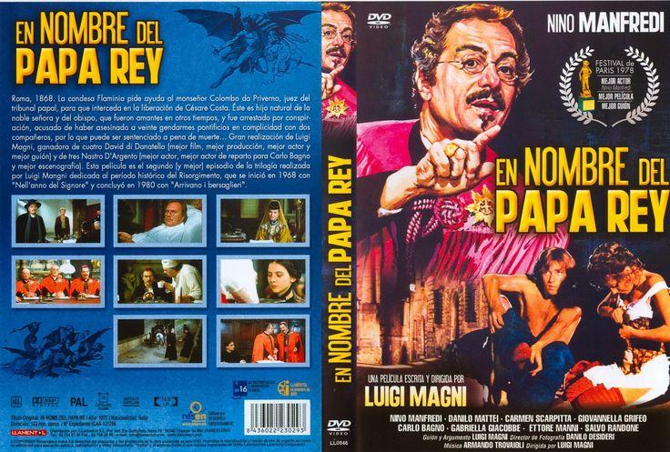 Carátula dvd: En nombre del papa rey (1977) (In nome del papa re)