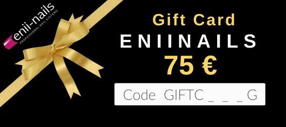 Tutti i dettagli su www.eniinails.it/shop/gift-card-promo