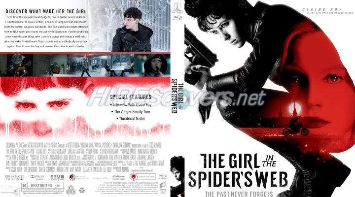The Girl In The Spiders Web Custom Blu Ray Cover With Images