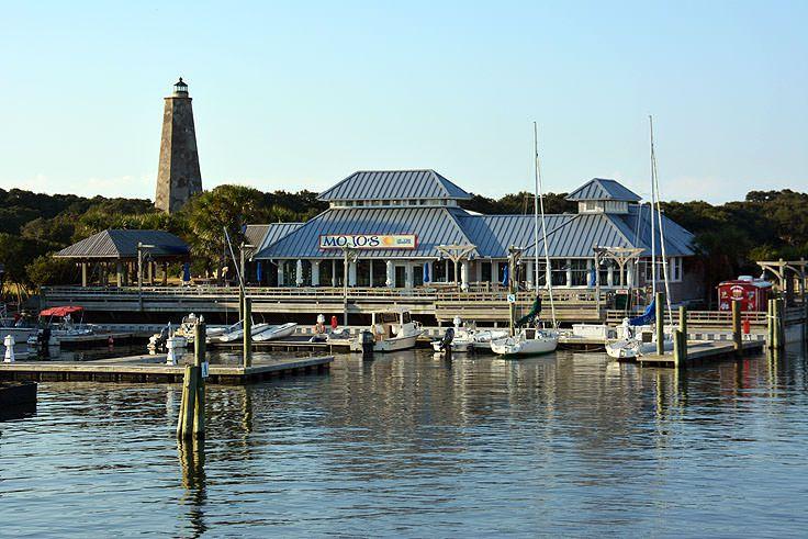 Mojo's on the Harbor on Bald Head Island, NC
