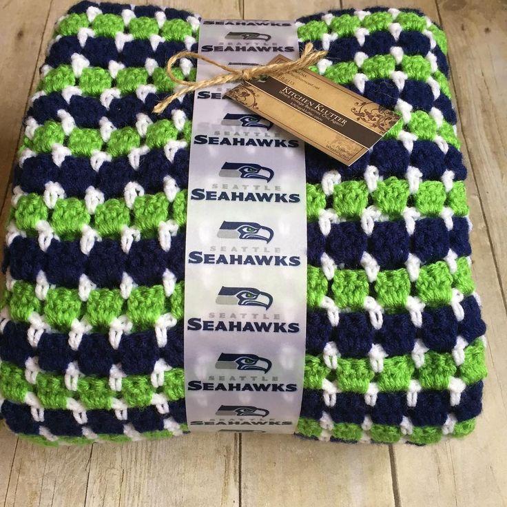 Off to its new home! #gohawks #seahawks #handmade #crochet #etsy