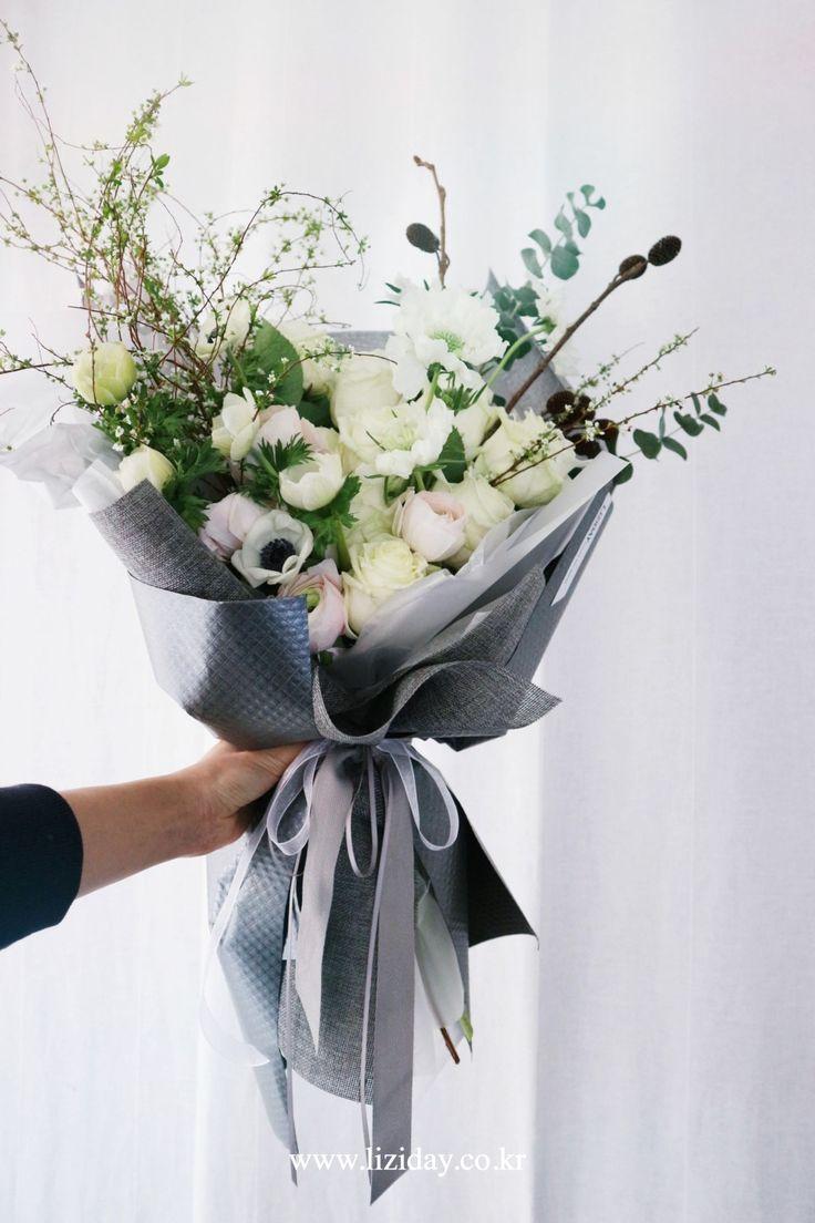 2월, 3월 기념일 꽃다발 선물 * 서울꽃배달 리지데이 : 네이버 블로그