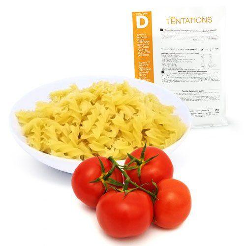 Minceur D – Fusilli avec sauce Tomate hyperprotéinés – Pochette de 5 sachets MinceurD