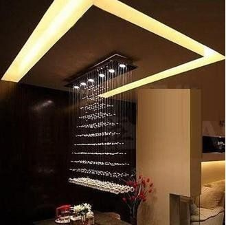 100cm Large Size New Modern Design Crystal Ceiling Light Pendant Lamp Chandelier+free shipping on AliExpress.com. $385.20