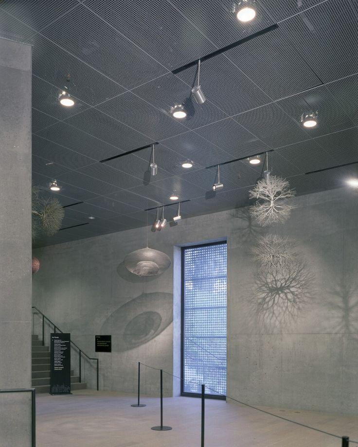 Celebration Metal Ceiling Panels Museum Hallway Ceiling