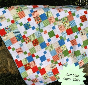 Layer Cake Quilt Pattern Book : 20 best images about Layer cake quilts on Pinterest ...