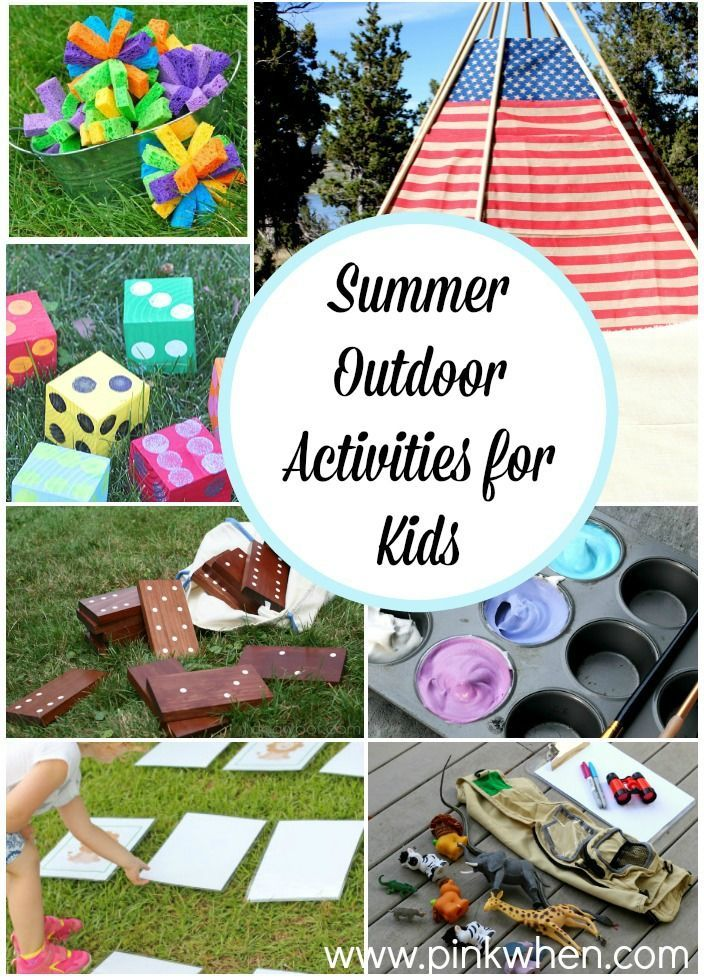 Get the kids out of the house and keep them from getting bored with these boredom busters and Summer Outdoor Activities for Kids.
