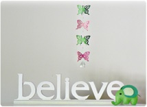 Paper butterly & crystal mobile.  Was $45 now $27.