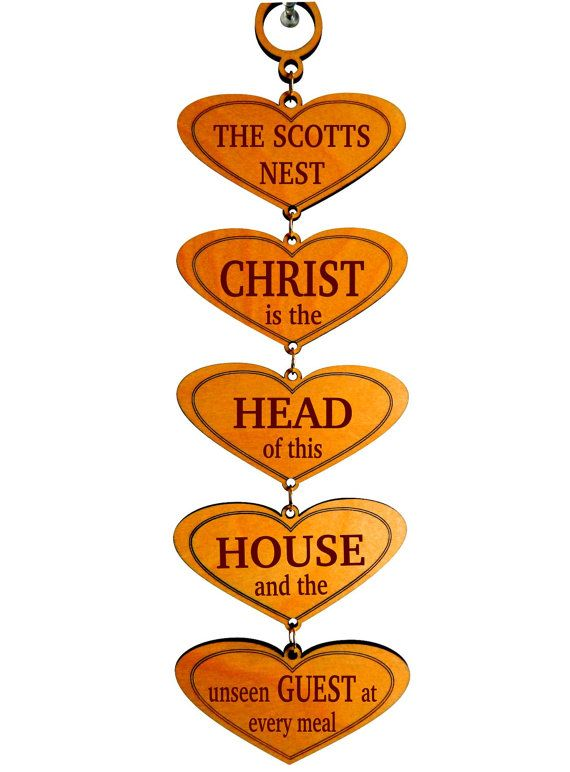 Custom Family Gift, Gift For A Christian Family, Christ Is The Head Of This  House Sign, Christmas Gift, Grandparent Gift, House Warming Gift