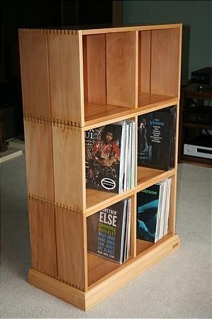 208 best vinyl record storage ideas images on pinterest. Black Bedroom Furniture Sets. Home Design Ideas