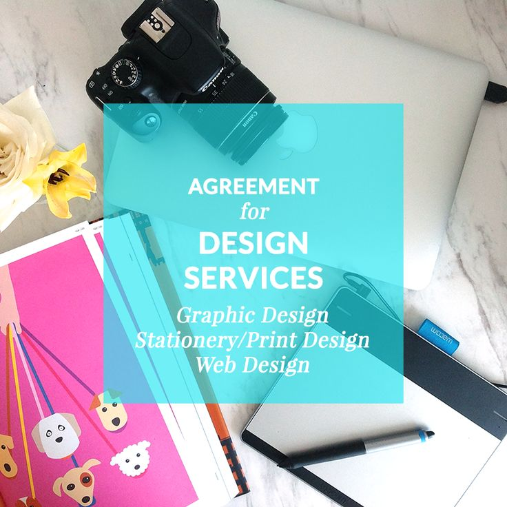 Agreement for Design Services (Graphic, Stationery/Print, and Web Design )