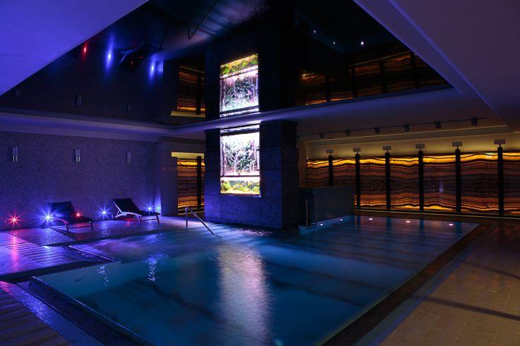 Underground swimming pool @Foksal Residence Residence