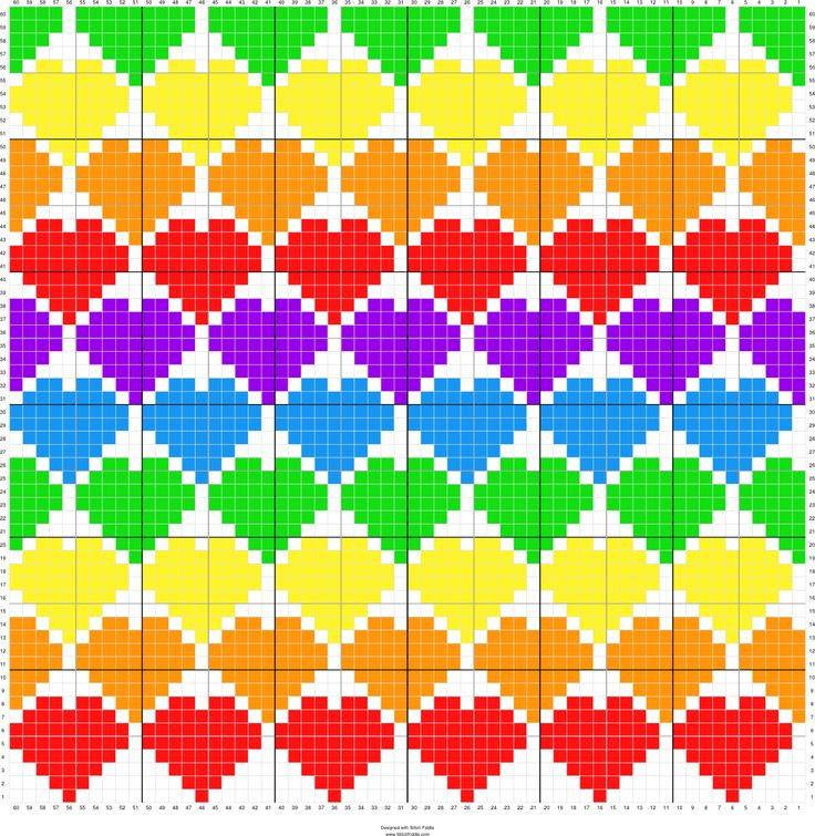 Heart C2C graphgan pattern