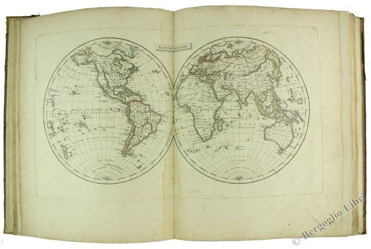 GEOGRAPHIE MODERNE - ATLAS. Pinkerton J., Walckenaer C.A., Lacroix S.F. 1804 - Bergoglio Libri d'Epoca