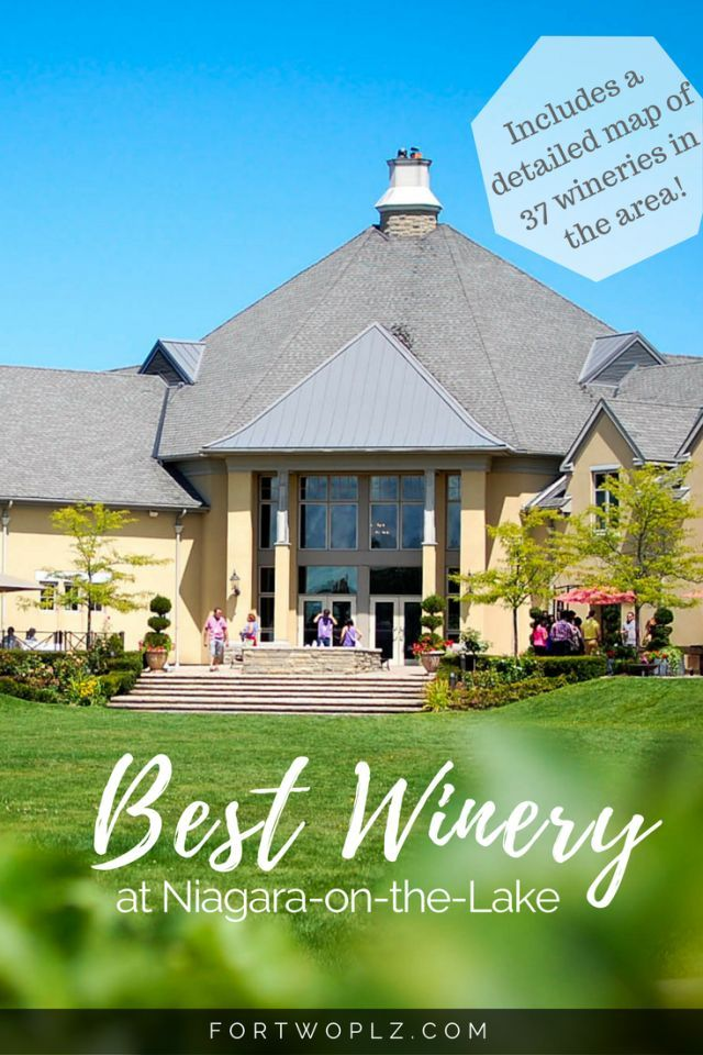 Peller Estates is the best winery at Niagara-on-the-Lake, Ontario, Canada and a must visit! With fine wines, delicious food and an ice lounge on site, it promises a one-of-a-kind experience. #bestwinery #niagarafalls #winetour