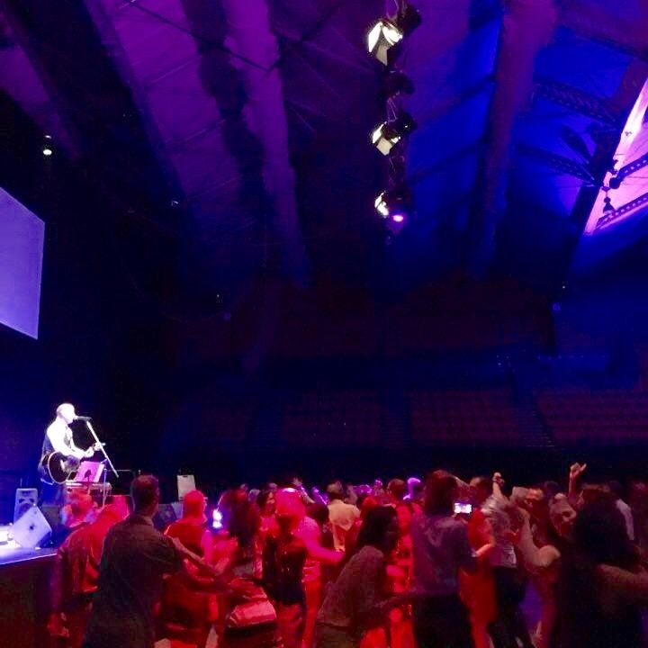 Entertaining a big crowd at Cairns Convention Centre