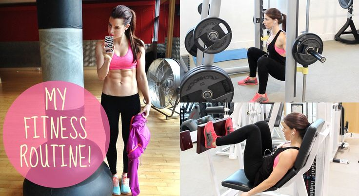My Gym Routine - how to work your legs, butt and abs in the gym! SO many of you have asked to see what I REALLY get up in when i post selfies in the gym - so...