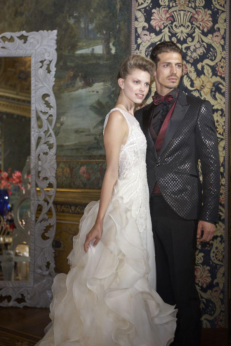 Carlo Pignatelli Couture and Carlo Pignatelli Cerimonia 2017. #carlopignatelli #couture #sposa #sposo #bride #groom #weddingdress #bridalgown #weddingday #matrimonio #madeinitaly