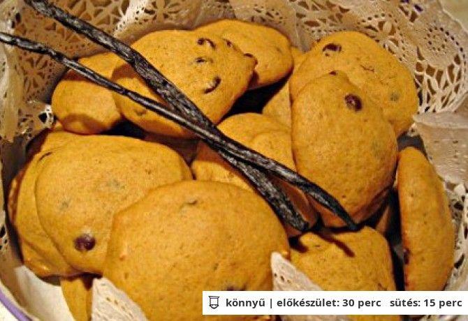 Sütőtökös keksz