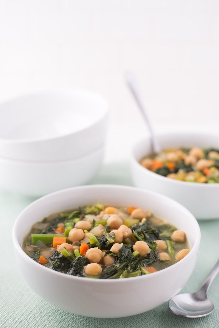 Recipe: Alice Waters' Chickpea and Broccoli Rabe Soup — Cooking Fresh from the Pantry | The Kitchn