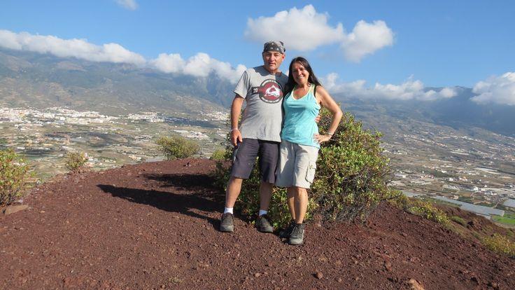 Canary Islands - Tenerife - Hiking on Volcancito de Socorro