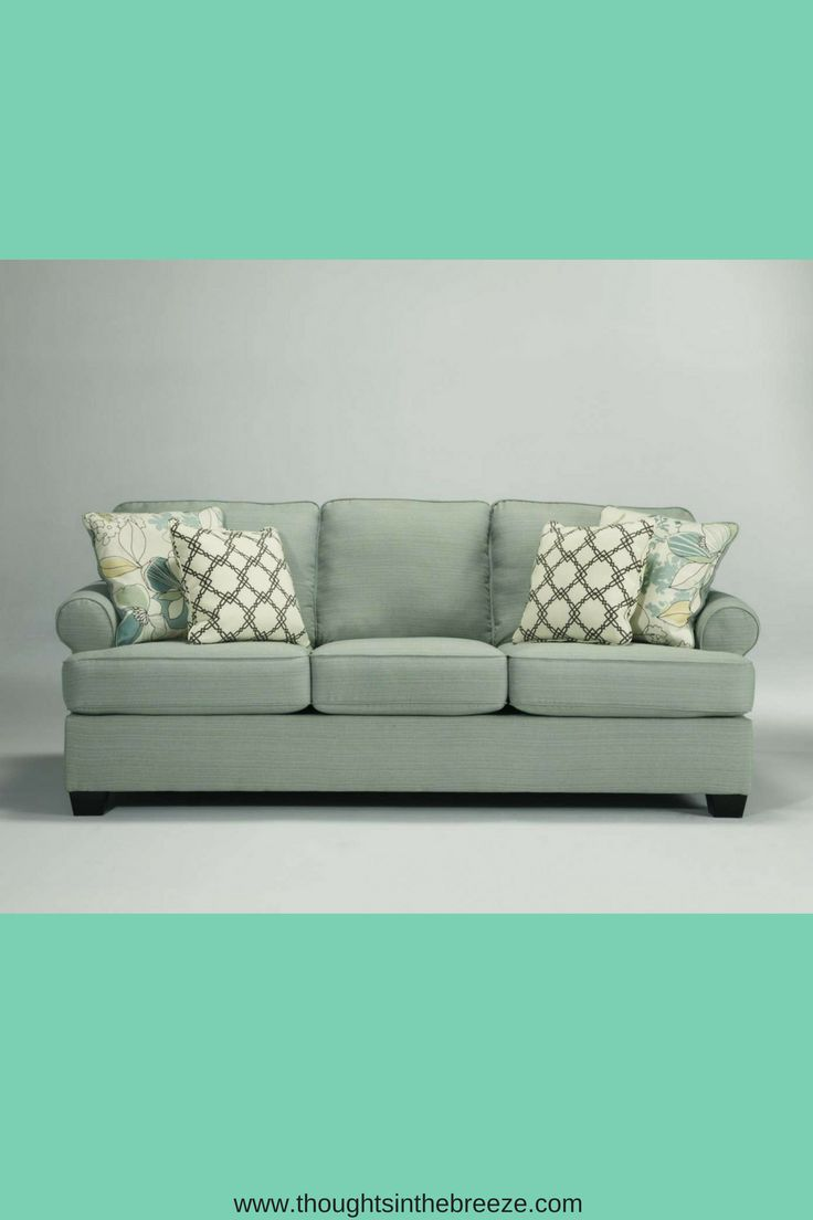 $659.77 Daystar Seafoam Queen Sleeper sofa With its lovely lines, setback rolled arms and linen-feel upholstery in the most serene shade, the Daystar sofa sleeper is a breath of fresh air. Designer. #sofa, #sleepersofa, #house, #daystar, #affiliate, #house, #furniture #interior #design #ideas #interiordesign #furniture #eclectic #uniqfind #classyinteriors #homedecor, #affiliate, #homedesign #interiorandhome #interior4all #interiordecor #interiors
