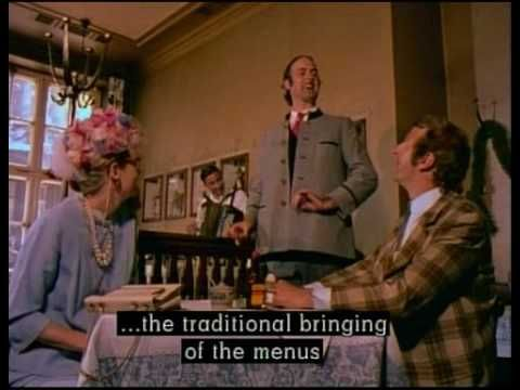 Monty Python's Fliegender Zirkus - Das Bayerisches Restaurant Stuck (Bavarian Restaurant Sketch)  Deutsch, English hardsubbed.  Co dodat? :-)