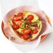 Turkish Pizza with Avocado Tzatziki