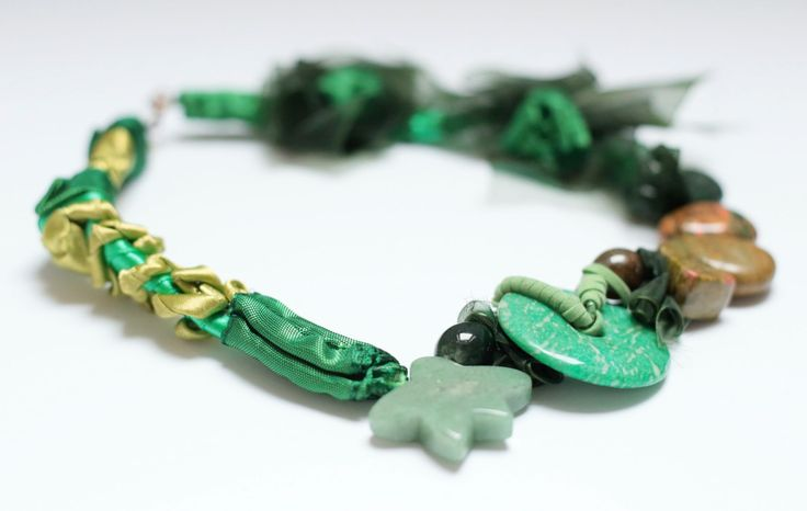 #green#design#necklace