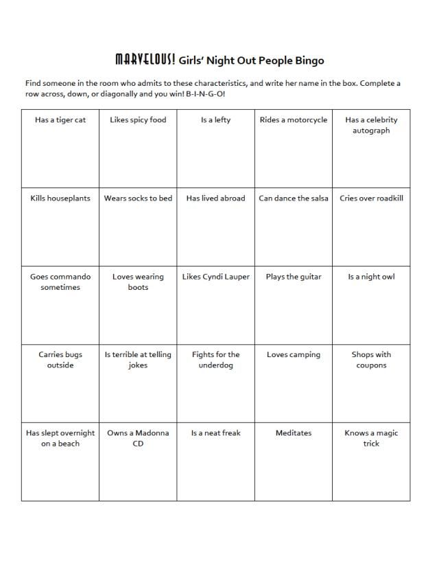 Make your own people bingo cards with these easy instructions.: How to Make a People Bingo Card, Step 4
