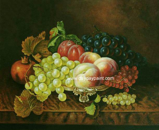 Famous Artists Paintings for Fruit | Handmade Fruit Paintings 017
