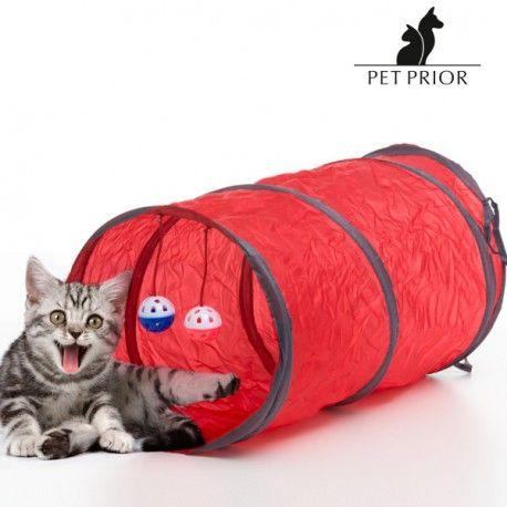 Pet Prior Katzentunnel mit Spielzeug (3 Teile)