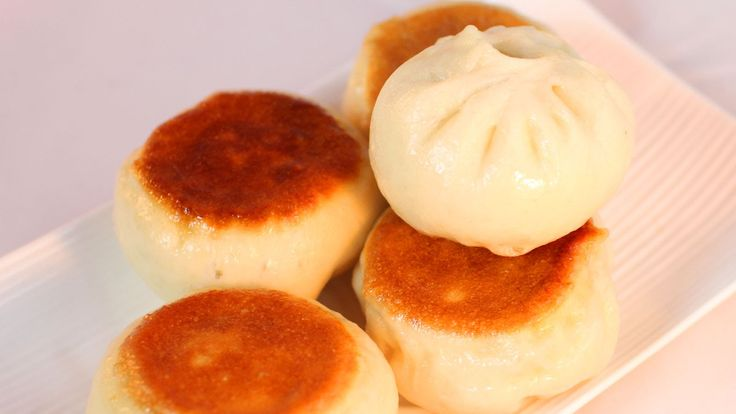 Fried Pork Buns Recipe /水煎包/生煎包/生煎饅頭