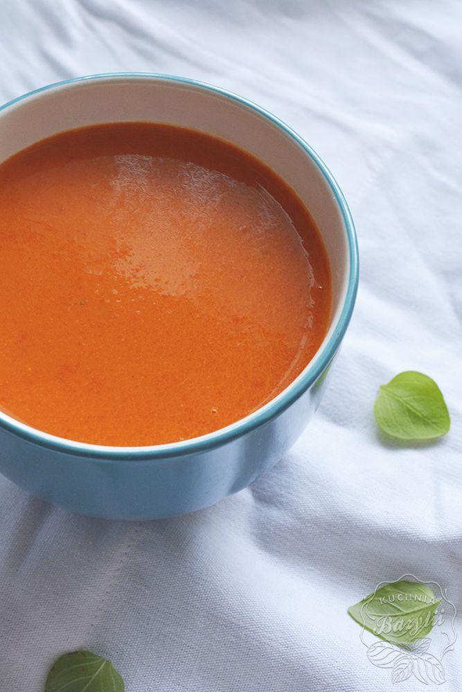 zupa z pieczonej papryki