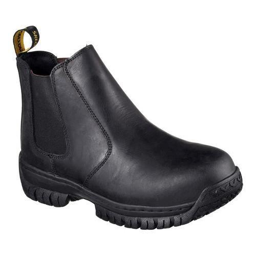 Men's Skechers Work Hartan Glendo Steel Toe Chelsea Boot